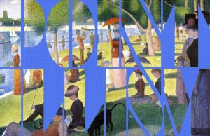Sunday in the Park, Typography