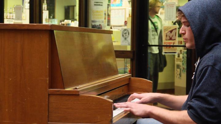 Gabrial Kerber Playing Piano